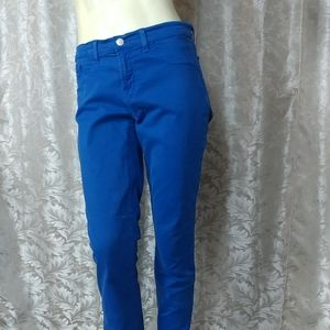 J. Brand Royal Blue Skinny Jeans
